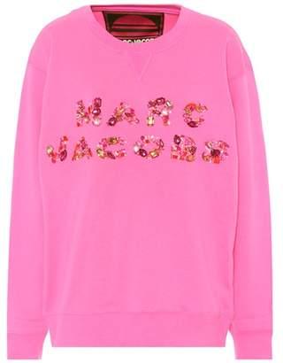 Marc Jacobs Embellished cotton sweatshirt