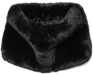 Marc Jacobs Faux Fur Snood - Black