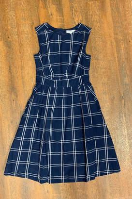 Emily & Fin Blue Plaid Dress