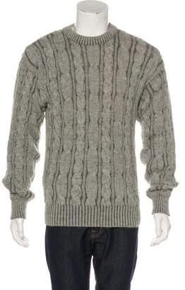 Pringle Vintage Alpaca Cable Knit Sweater