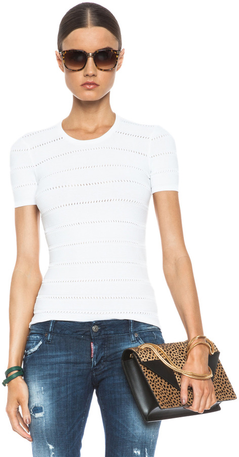 DSquared Knit Top in White