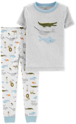 Carter's Baby Boys 2-Pc. Cotton Pajamas