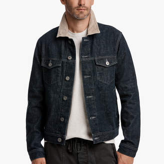 James Perse RAW DENIM JEAN JACKET