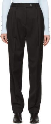 Acne Studios Black Pati Trousers