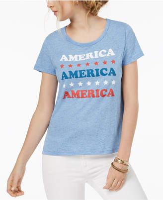 Hybrid Juniors' America Graphic-Print T-Shirt