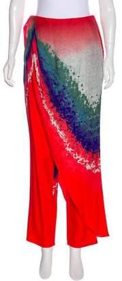 Baja East High-Rise Printed Pants