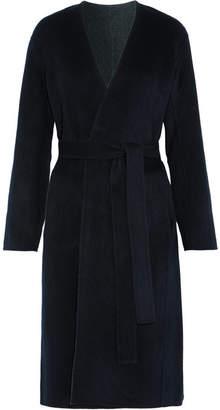 Vince - Reversible Wool And Cashmere-blend Felt Coat - Navy $750 thestylecure.com