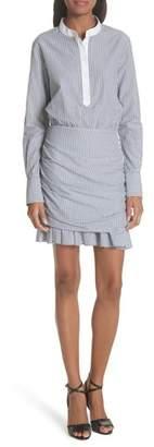 Veronica Beard Everett Stripe Shirtdress