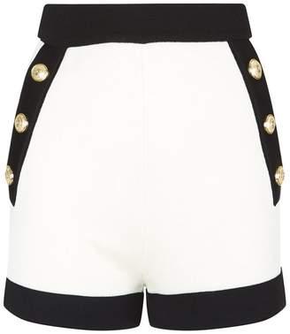 Balmain High-Waisted Shorts