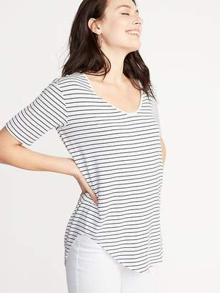 Old Navy Luxe Curved-Hem Tunic for Women