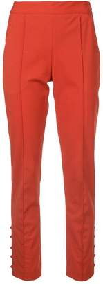 Rosie Assoulin straight-leg cigarette trousers
