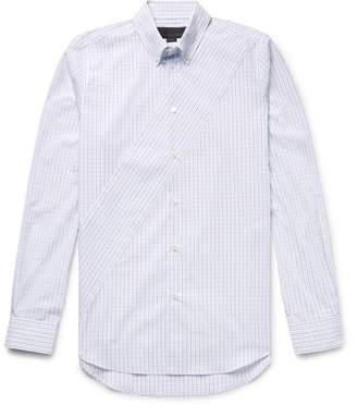 Stella McCartney Riley Slim-Fit Button-Down Collar Checked Organic Cotton-Poplin Shirt