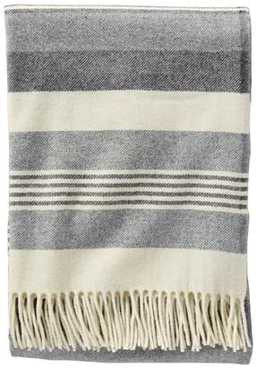Pendleton Horizon Stripe Lambswool Throw Blanket
