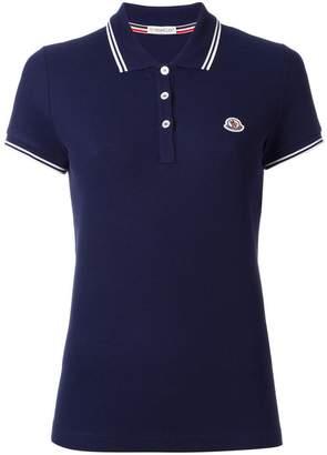 Moncler short sleeve polo shirt