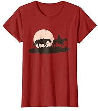 Western Lone Cowboy Rancher T-Shirt