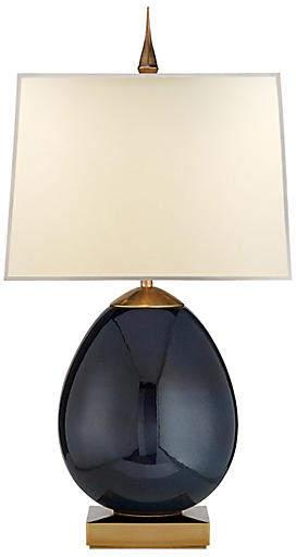Ciro Table Lamp - Mixed Blue/Brass - Visual Comfort & Co.