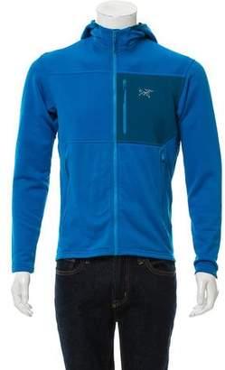 Arc'teryx Hooded Polartec Fleece Sweater Jacket
