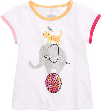First Impressions Baby Girls Circus Graphic T-Shirt