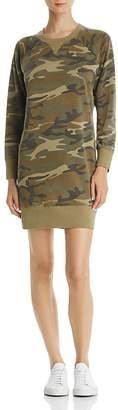 Alternative Camo Sweatshirt Dress