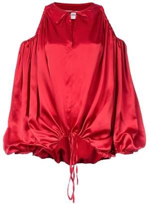 690615d475c345 Marques Almeida Marques Almeida cut-out shoulder blouse