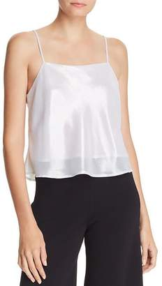 Lucy Paris Cropped Metallic Camisole - 100% Exclusive
