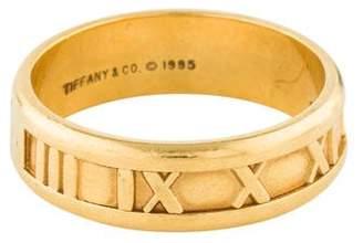 Tiffany & Co. 18K Narrow Atlas Ring