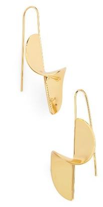 Women's Argento Vivo Spiral Threader Earrings $40 thestylecure.com