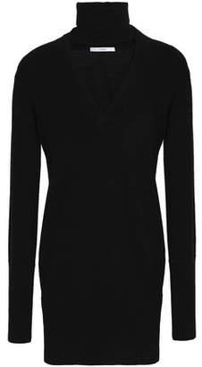 Tome Cutout Merino Wool Turtleneck Sweater