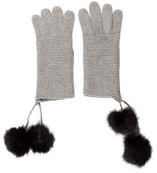 Portolano Cashmere Knitted Gloves