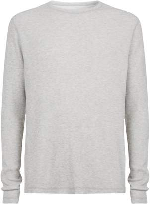 AllSaints Clan Knitted Long Sleeve Top