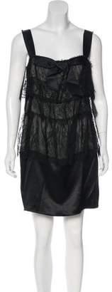 Lanvin Silk Lace Dress