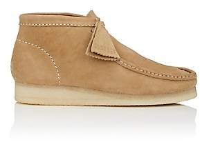 Clarks Men's BNY Sole Series: Nubuck Wallabee Boots-Sand