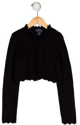 Polo Ralph Lauren Girls' Knit Cardigan