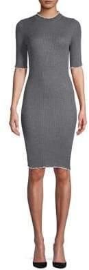 Dorothy Perkins Classic Frayed Sheath Dress