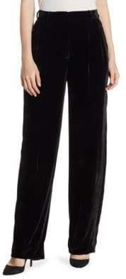 Theory High-Rise Velvet Pants