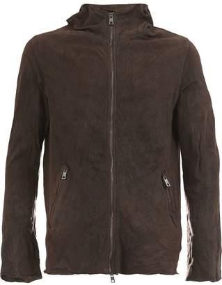 Giorgio Brato zip hooded jacket