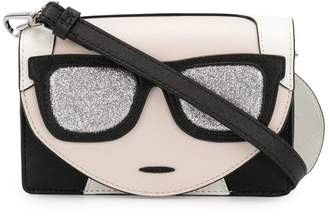 Karl Lagerfeld Ikonik mini crossbody bag