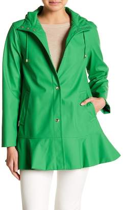 Kate Spade Ruffle Hem Trench Coat