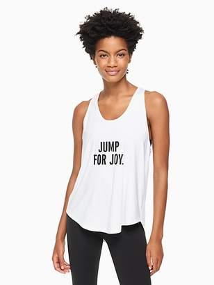 Kate Spade Jump for joy tank