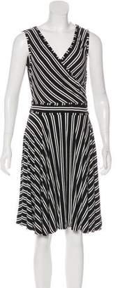 Max Studio Sleeveless Knee-Length Dress