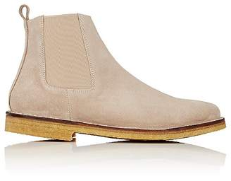 Barneys New York MEN'S CREPE-SOLE CHELSEA BOOTS
