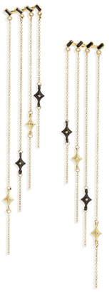 Armenta Old World Sapphire & Diamond Chandelier Earrings