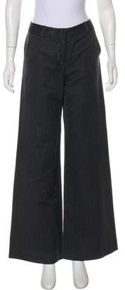 3.1 Phillip Lim Stripe Mi-Rise Pants