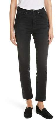 Rebecca Taylor Ines Crop High Waist Skinny Jeans