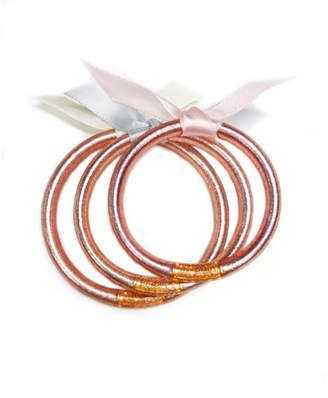 The Birds Nest ROSE GOLD ALL WEATHER BANGLES FOR BABIES-LARGE