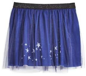 Mini Series Girls' Star-Print Tulle Skirt - Little Kid