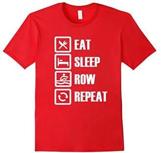 Eat Sleep Row Repeat Rowing T-Shirt