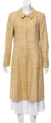 Chanel Tweed Long Coat