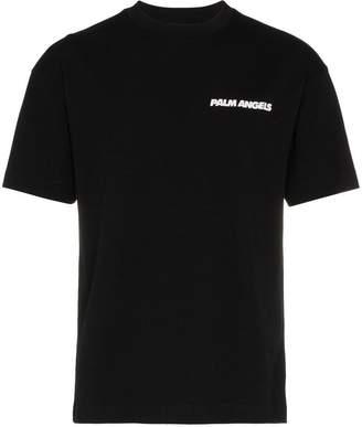 Palm Angels 'Palm Car Crash' and logo printed t-shirt
