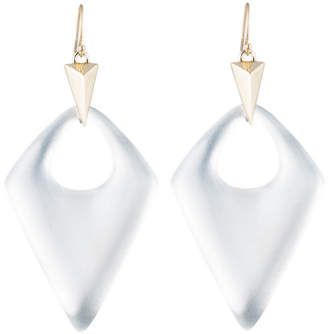 Alexis Bittar Pointed Pyramid Drop Earring